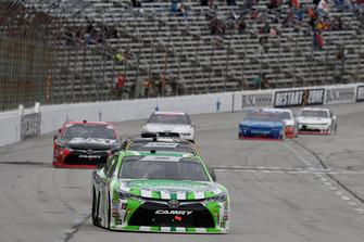 Brandon Jones, Joe Gibbs Racing, Toyota Camry Interstate Batteries, John Hunter Nemechek, Chip Ganassi Racing, Chevrolet Camaro ROMCO Equipment Co.