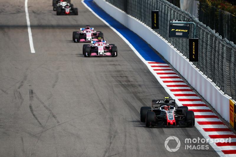 P8: Kevin Magnussen, Haas F1 Team VF-18