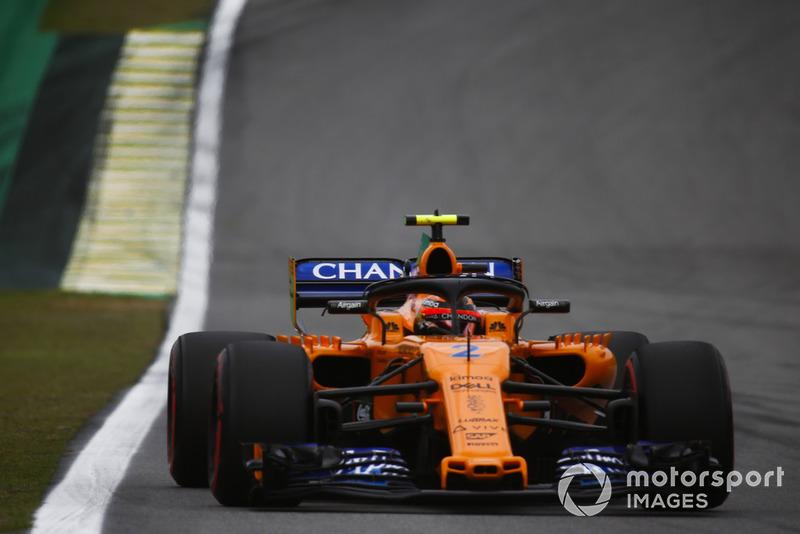 Stoffel Vandoorne - McLaren: 8 puan