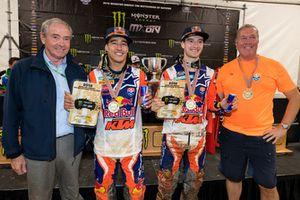 Glenn Coldenhoff en Jeffrey Herlings, Red Bull KTM Factory Racing