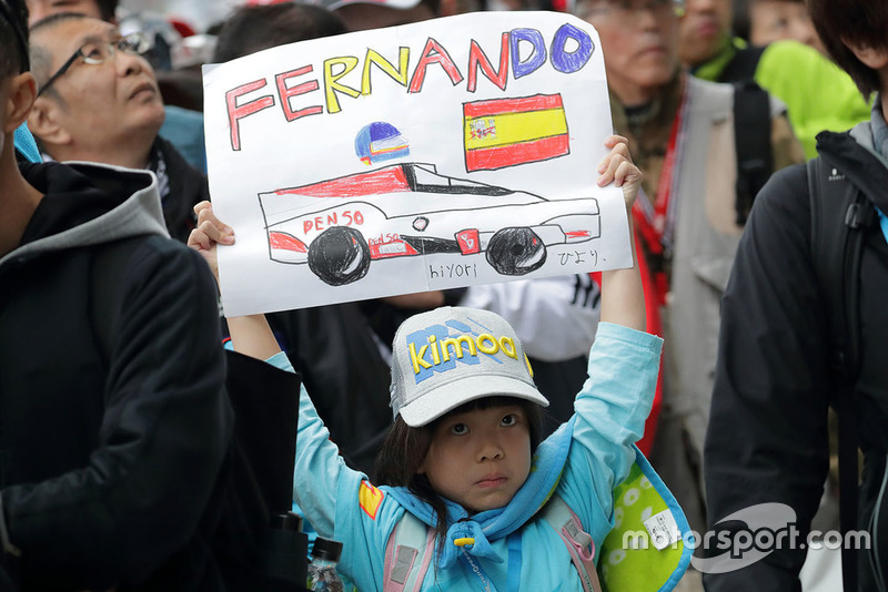 Un fan de Fernando Alonso, Toyota Gazoo Racing