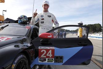 Ganador de la pole #24 BMW Team RLL BMW M8 GTLM: John Edwards