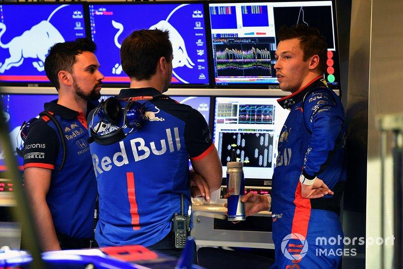 Na terceira passagem pela Toro Rosso, o russo conquistou o segundo pódio da história da equipe. Ele terminou em terceiro no GP da Alemanha. Não foi o suficiente, porém, para se credenciar a um retorno para a Red Bull.