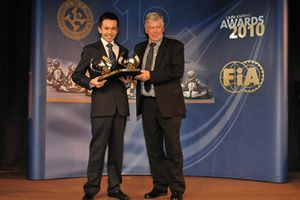 Alex Albon, CIK-FIA Awards 2010