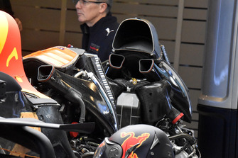 Red Bull Racing RB14 cambio de motor