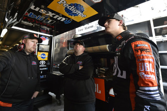 Todd Gilliland, Kyle Busch Motorsports, Toyota Tundra JBL/SiriusXM and Marcus Richmond