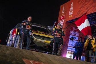 Себастьен Лёб и Даниэль Элена, PH Sport, Peugeot 3008 DKR (№306)