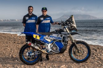 Франко Кайми, Yamalube Yamaha Official Rally Team, Yamaha WR450F Rally (№8)