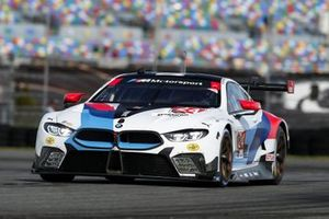 BMW M8 GTE №24 команды BMW Team RLL, класс GTLM: Йессе Крон, Джон Эдвардс, Моззи Мостерт, Алекс Дзанарди
