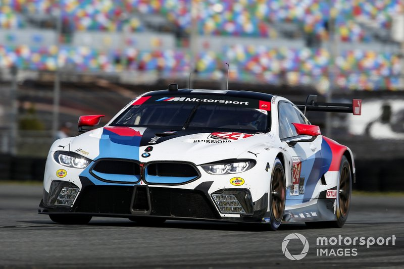 22. GTLM: Йессе Крон, Джон Эдвардс, Моззи Мостерт, Алекс Дзанарди, BMW Team RLL, BMW M8 GTE (№24)