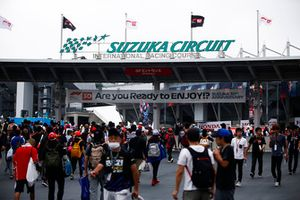 The sign at an entrance to the circuit