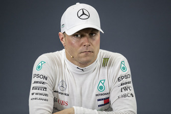 Valtteri Bottas, Mercedes AMG F1 in Press Conference