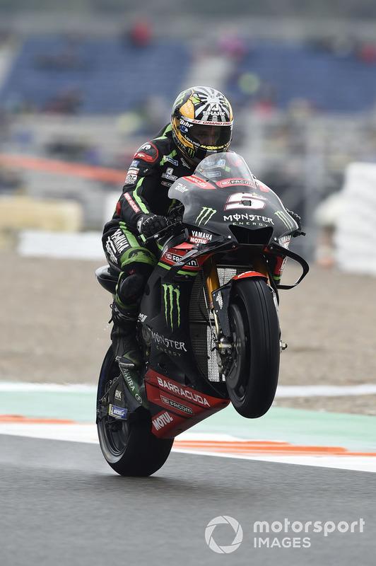 MotoGP Valencia: Johann Zarco, Monster Yamaha Tech 3