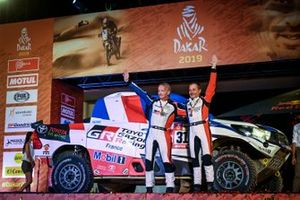 Podium: Toyota: Ronan Chabot, Gilles Pillot