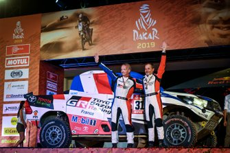 Podium : Toyota: Ronan Chabot, Gilles Pillot