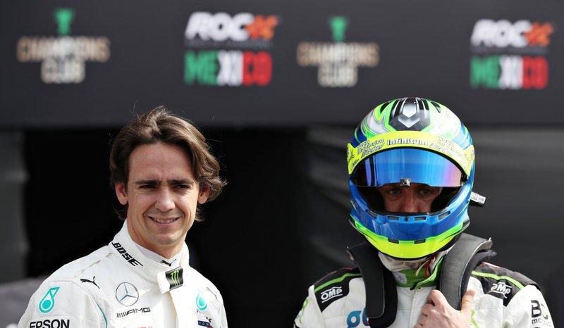 Esteban Gutierrez et Benito Guerra se préparent pour leurs essais