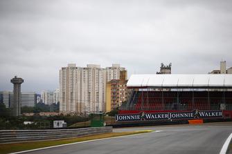A scenic view of the Interlagos track