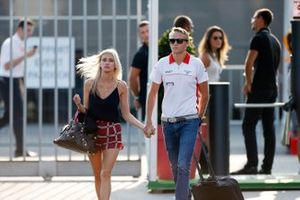 Max Chilton with girlfriend Chloe Roberts