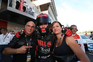Race winner Attila Tassi, Hell Energy Racing with KCMG Honda Civic Type R TCR