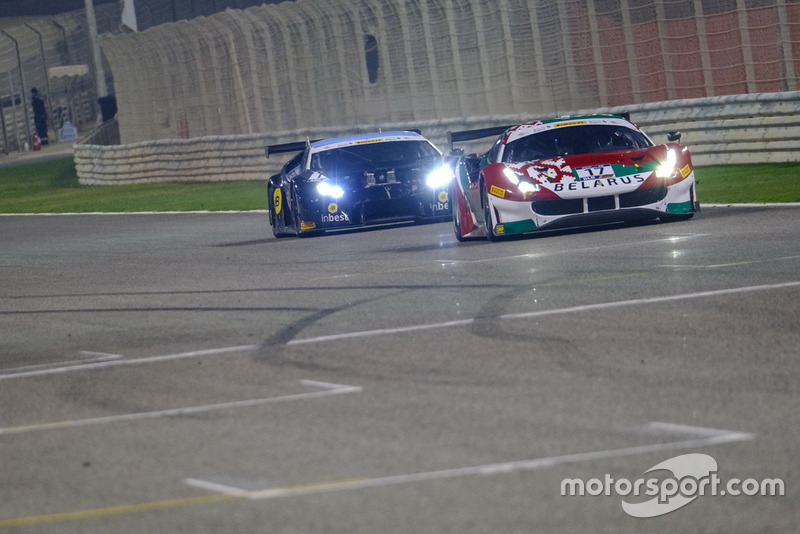 #17 Belarus, AT Racing Ferrari 488 GT3: Alexander Talkanitsa Sr., Alexander Talkanitsa Jr.