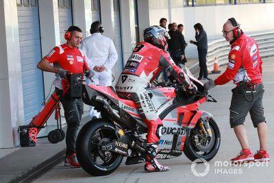 Testes de novembro em Jerez