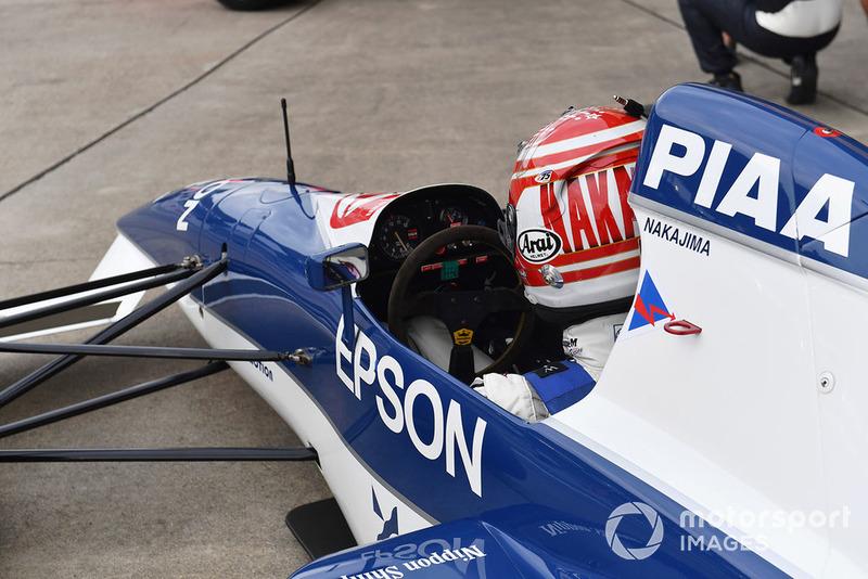 Kazuki Nakajima, Tyrrell 017