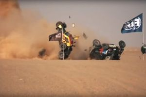 Accidente en Africa ECO Race 2019