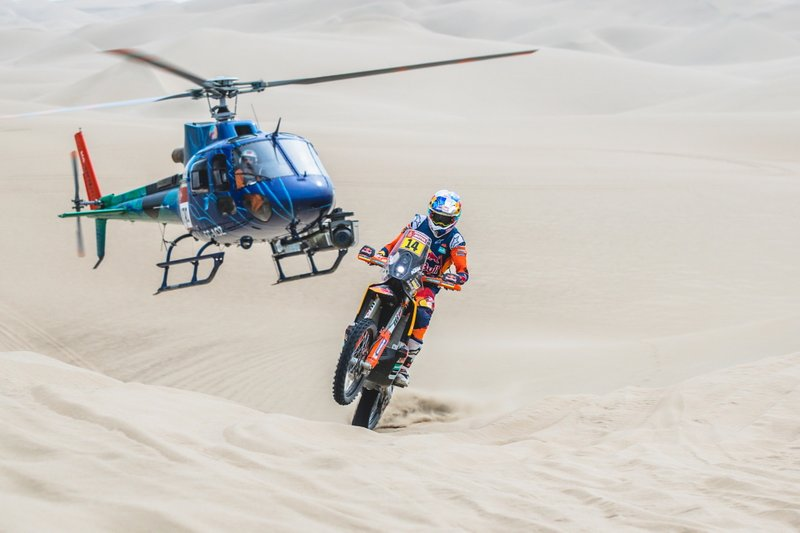 Сэм Сандерленд, Red Bull KTM Factory Team, KTM 450 Rally (№14)