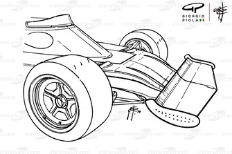 Переднее антикрыло и носовой обтекатель Ferrari