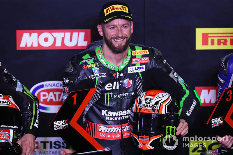 Tom Sykes, Kawasaki Racing tras la pole