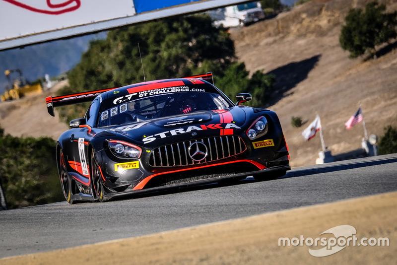 #44 Strakka Racing Mercedes-AMG GT3: Jack Hawksworth, Christian Vietoris, Adrien Tambay