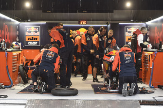 Red Bull KTM Ajo garage