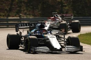 George Russell, Williams FW43B, Kimi Raikkonen, Alfa Romeo Racing C41