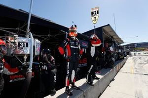 #31: Whelen Engineering Racing Cadillac DPi, DPi: Felipe Nasr, Pipo Derani, fait un arrêt