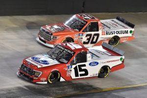 Tanner Gray, Team DGR, Ford F-150 Ford Performance, Danny Bohn, On Point Motorsports, Toyota Tundra Rust-oleum