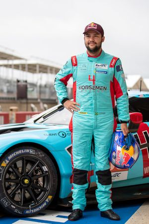 Felipe Fraga, #33 TF Sport Aston Martin Vantage AMR LMGTE Am