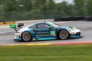 #88 Team Hardpoint EBM Porsche 911 GT3R, GTD: Rob Ferriol, Katherine Legge
