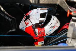 #32 United Autosports Oreca 07 - Gibson LMP2, Nicolas Jamin, helmet