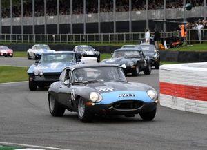 Célébration Royal Automobile Club TT, Richard Kent Alex Brundle Jaguar E