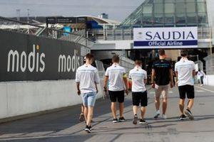 Stoffel Vandoorne, Mercedes Benz EQ track walk