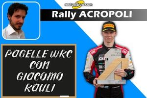 Cover Pagelle WRC: Rally Acropoli