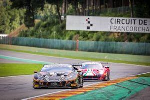 #19 Orange 1 FFF Racing Team Lamborghini Huracan GT3 Evo: Stefano Costantini, Phil Keen, Bertrand Baguette, Hiroshi Hamaguchi