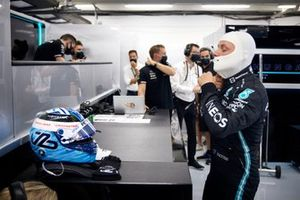 Valtteri Bottas, Mercedes dans le garage