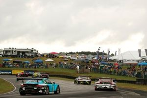 #28: Alegra Motorsports Mercedes-AMG GT3, GTD: Michael de Quesada, Daniel Morad, #9: Pfaff Motorsports Porsche 911 GT3R, GTD: Zacharie Robichon, Laurens Vanthoor
