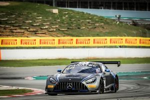 #57 Winward Racing Mercedes-AMG GT3: Russell Ward, Philip Ellis, Mikael Grenier