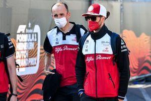 Robert Kubica, Test and Reserve Driver, Alfa Romeo Racing and Antonio Giovinazzi, Alfa Romeo Racing