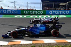 Джордж Расселл, Williams FW43B, Мик Шумахер, Haas VF-21