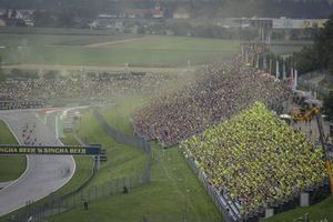 Renn-Action beim GP Österreich 2021 in Spielberg