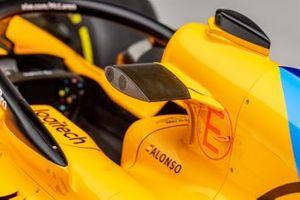 La McLaren MCL33 di Fernando Alonso del 2018