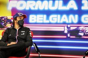 Fernando Alonso, Alpine F1, in de persconferentie